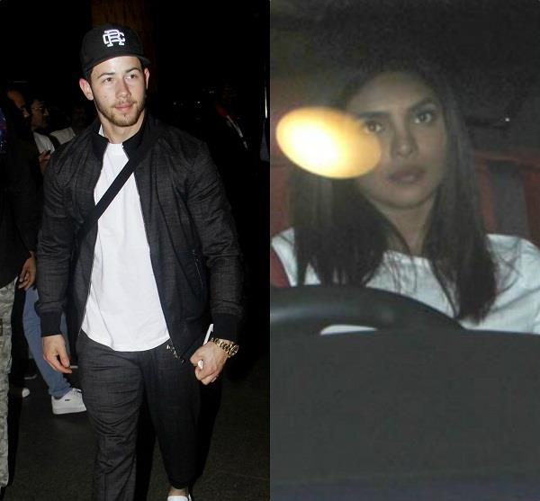 nick jonas leaving mumbai