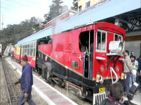 117 year old steam engine ran again on the kalka shimla rail track