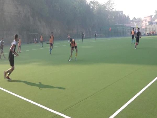 the hockey competition started in una