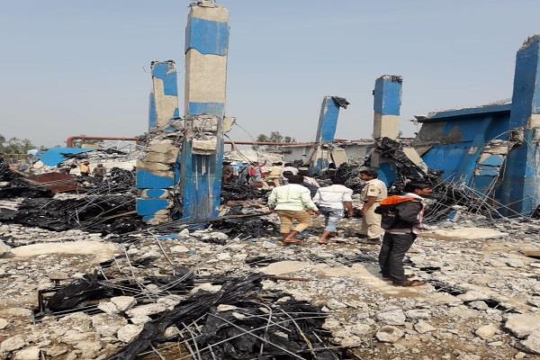 karnataka boiler explosion in sugar mill four killed