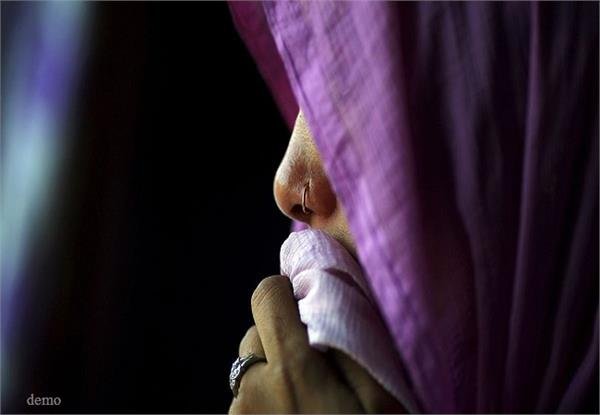 shameful the young man raped the woman in front of husband