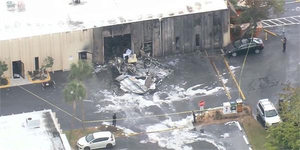 plane crashes into florida autism therapy facility 2 dead