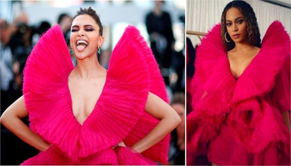 beyonce just wore the same gown as deepika padukone