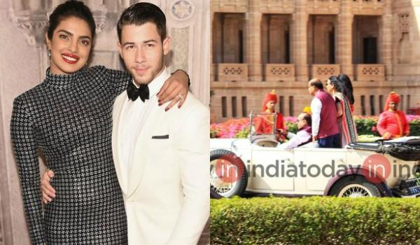 priyanka nick wedding inside pics