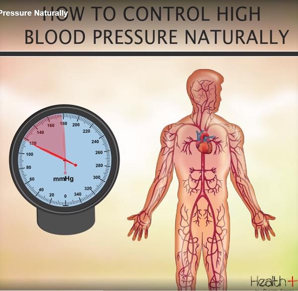 how to control high blood pressure naturally