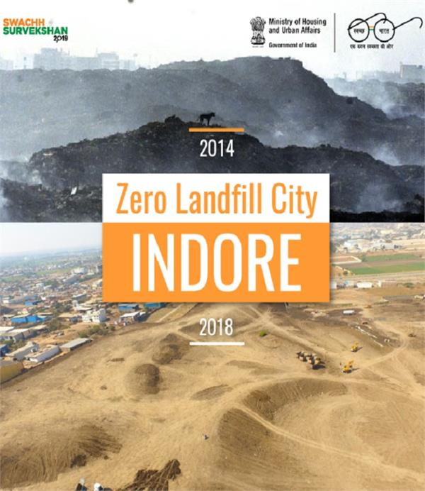 indore will become the country s first zero landfill city