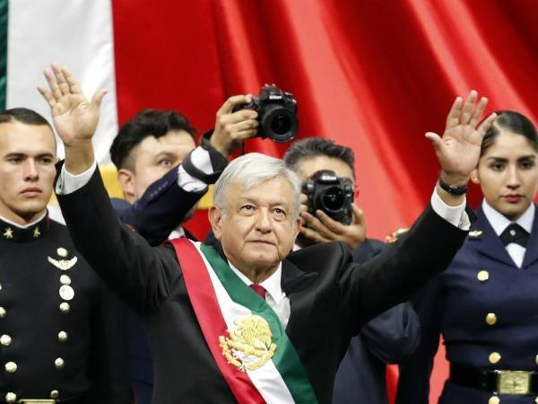 mexico s lópez obrador sworn in as first leftist president in decades