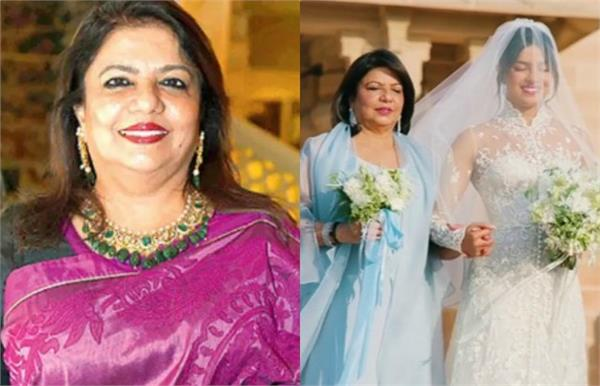 madhu chopra says i broke into tears when i saw priyanka as bride