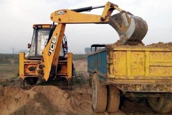 illegal mining in kangra potholes