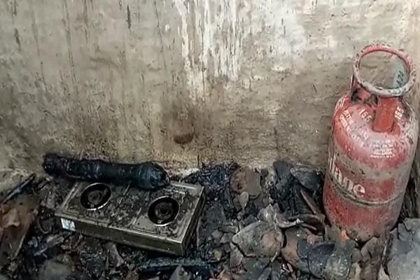 bigger accident than cylinder burst 2 children killed including 1 injured woman
