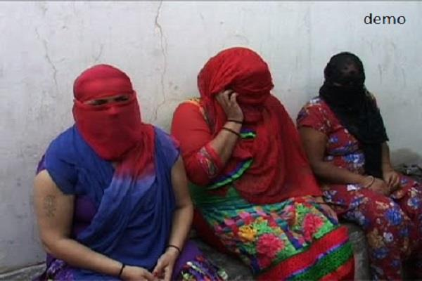 three women arrested for prostitution business