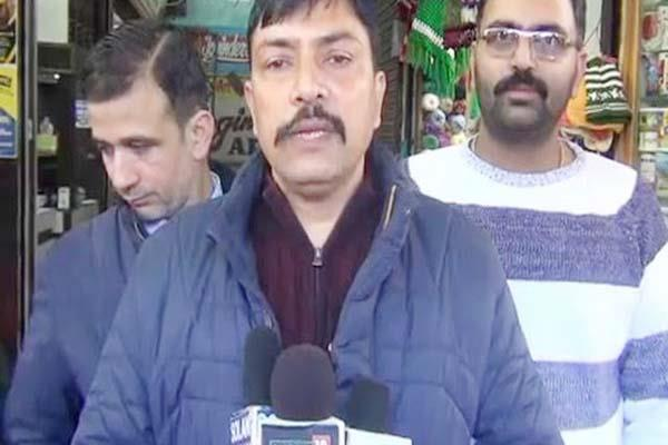 lakkar market association opened front against electricity board