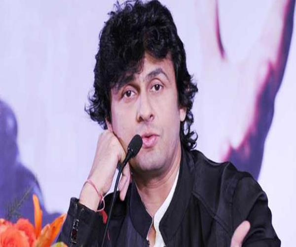 religion is being redeemed in the country sonu nigam