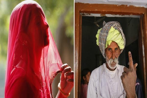 विधानसभा चुनाव: कहीं झुर्रियों वाले चेहरे, तो कहीं घूंघट के पीछे से मुस्कुराया लोकतंत्र