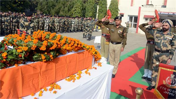 tribute paid to bsf martyr constable parsonjet