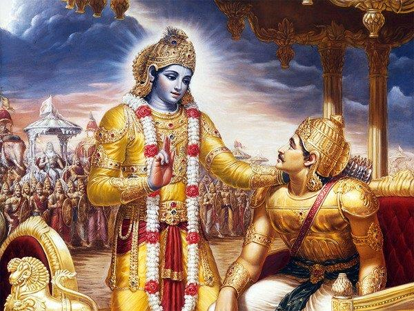 poster exhibition on relevance of bhagavad gita to be held in dubai
