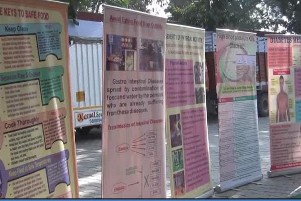 organizing free health camp in indian navy week