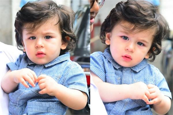 taimur ali khan entry in top to popular celebrity list