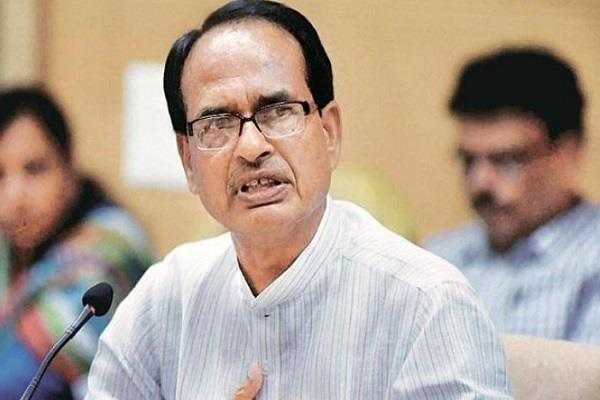 shivraj s attack on congress