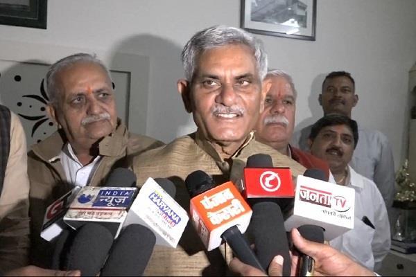 state minister manish grover aimed on bhupinder singh hudda