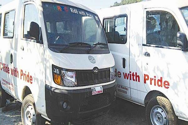 buses and e taxi are going on without permit