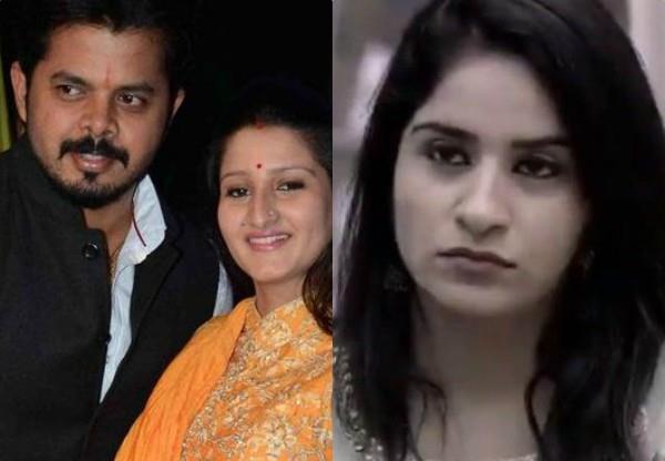 weekend ka vaar fight beteween sreesanth wife and surbhi rana brother