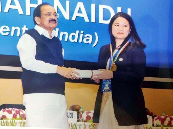 sp chamba got this award in delhi