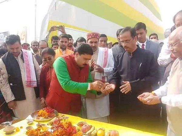 deputy cm dinesh sharma inaugurated the environmental kumbh