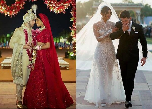 priyanka chopra and nick jonas wedding pictures