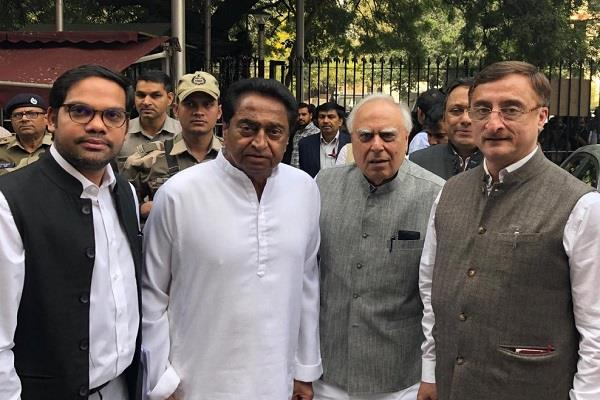kamal nath met chief election commissioner in delhi