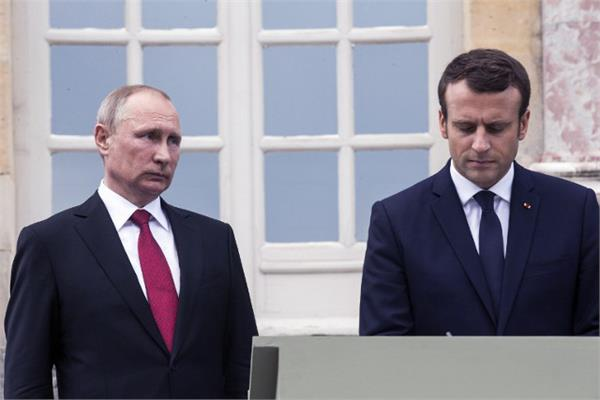 russia denies meddling in france s  yellow vest  protests