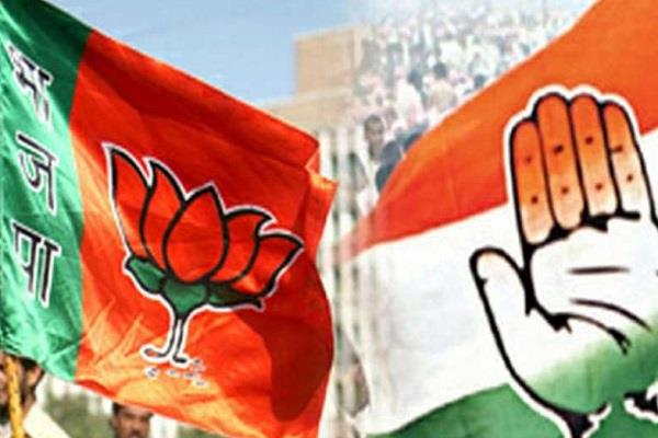 bjp supporters thrash youths for voting on congress