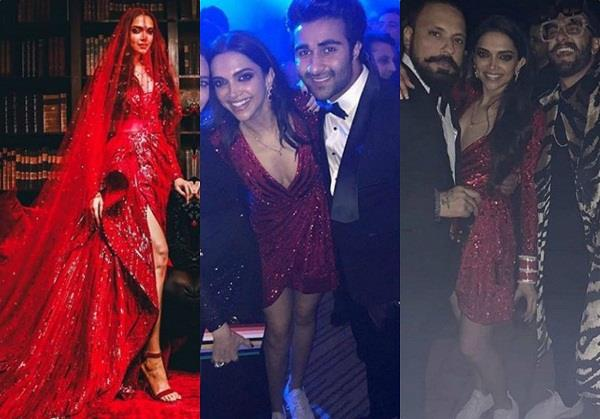 deepika padukone wore sneakers with gown