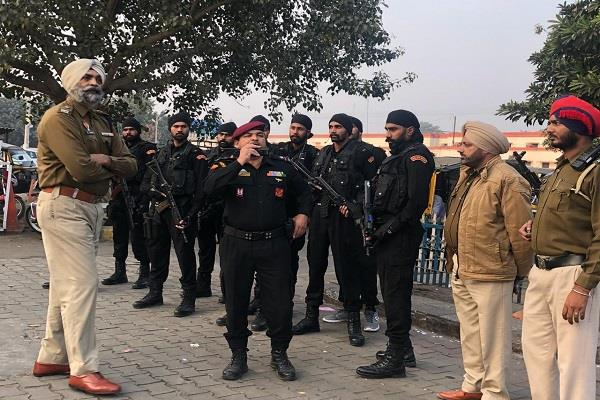 search campaign at railway station input of terrorism in jalandhar