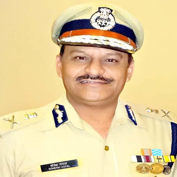 dgp somaesh goyal will be honored with this award in kanda jail