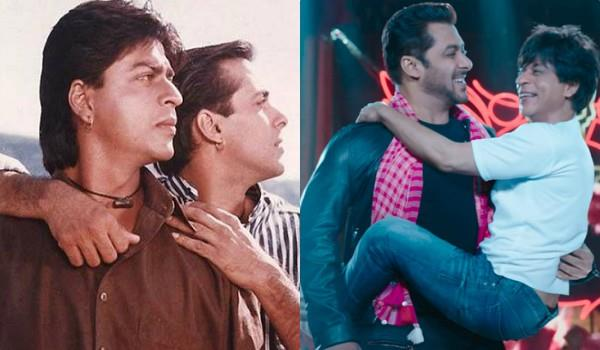 shahrukh khan want to kiss salman khan