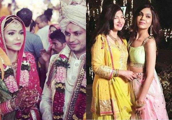 alka yagnik daughter syesha kapoor ties the knot