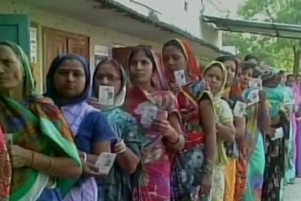 women have voted fiercely increased congress bjp problems