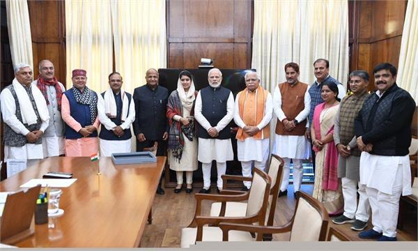mayor meet prime minister narendra modi