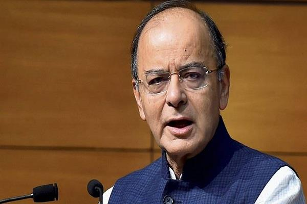 jaitley attacks opposition not slogans for poverty reduction