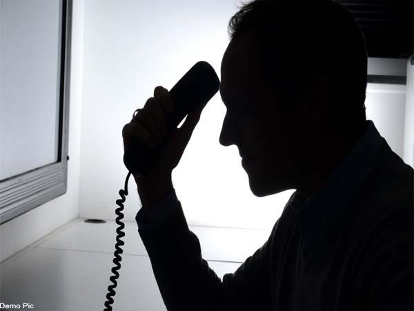 demand ransom on phone from businessman