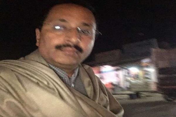 bjp leader goes to jail in sagar