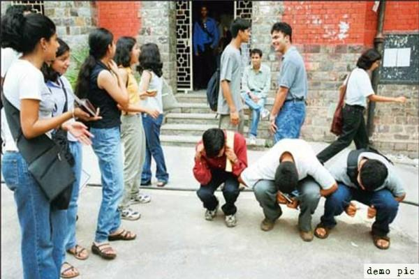 incidents are increasing ragging in educational institutions
