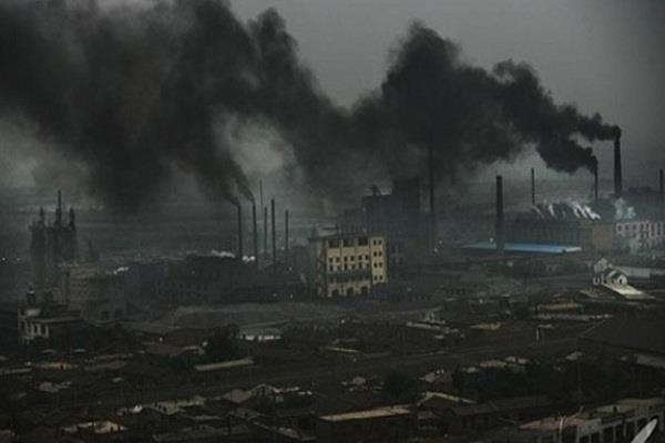 722 people responsible for pollution in china