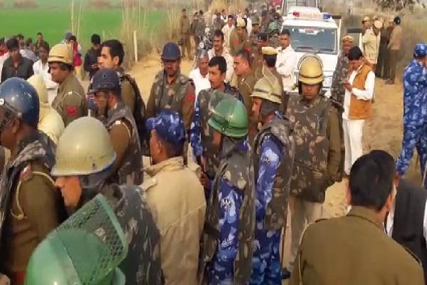 administration reached the possession of land villagers stopped work
