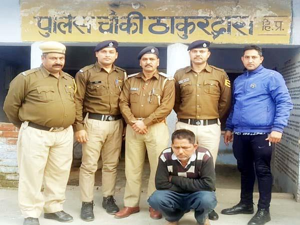 4 smuggler arrestes with hashish and heroin