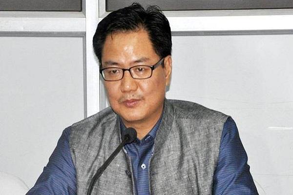 ambassador of the development of the indian nation rijiju