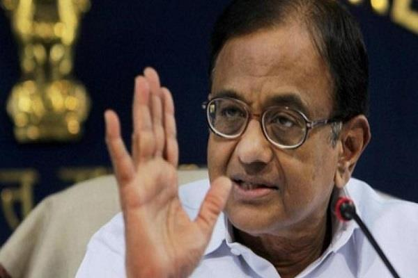 chidambaram  the self respecting scholar can not work in the modi government