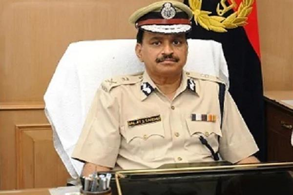 haryana governmet extended time period of dgp bs sandhu