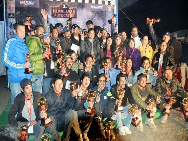 ghanshyam captured the title of the overall championship in gypsy category
